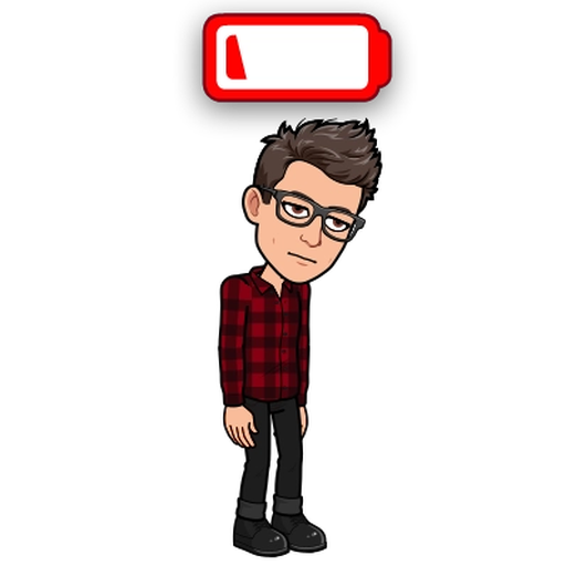 Sadness BitMoji - Sticker 3