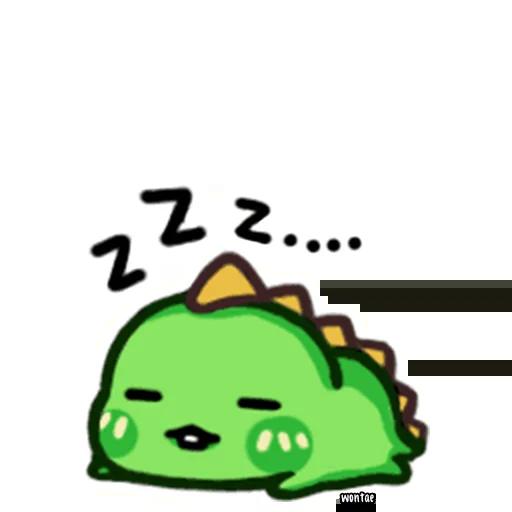 lil dino - Sticker 1