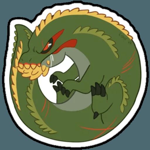 Monster hunter - Sticker 3