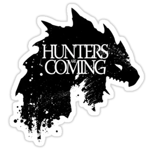 Monster hunter - Sticker 9