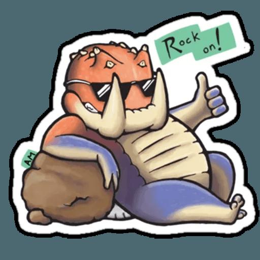 Monster hunter - Sticker 12