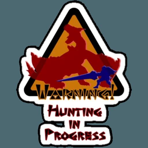 Monster hunter - Sticker 17