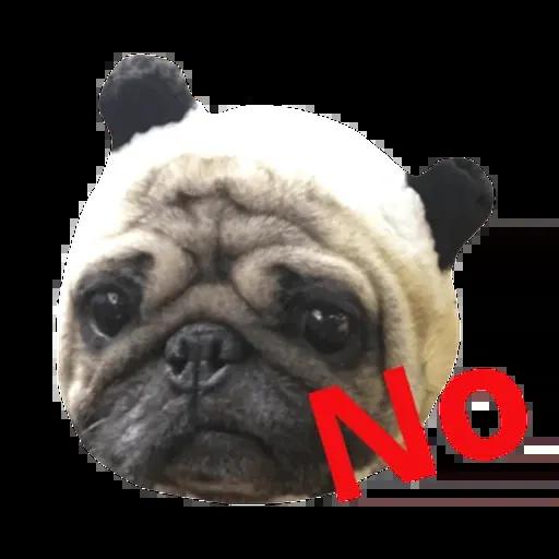 Pug - Sticker 2