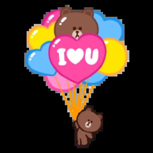Brown line - Sticker 7