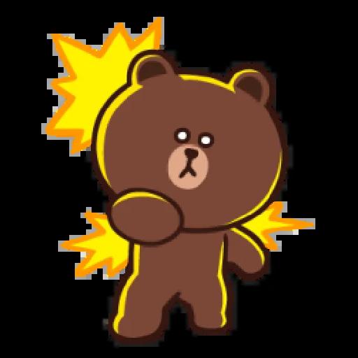 Brown line - Sticker 18