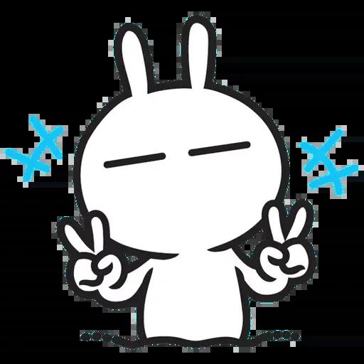 Cute Bunny - Sticker 26