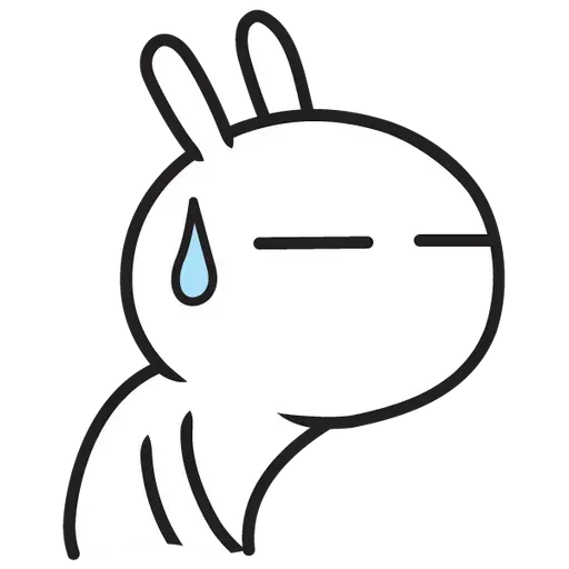 Cute Bunny - Sticker 24