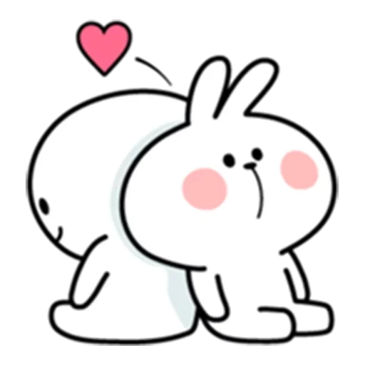 Spoiled rabbit - Sticker 22