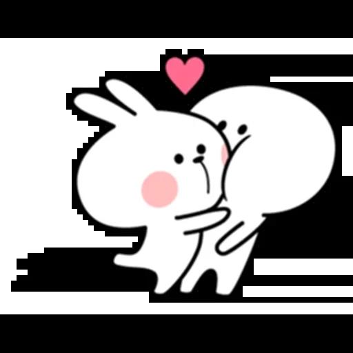 Spoiled rabbit - Sticker 7