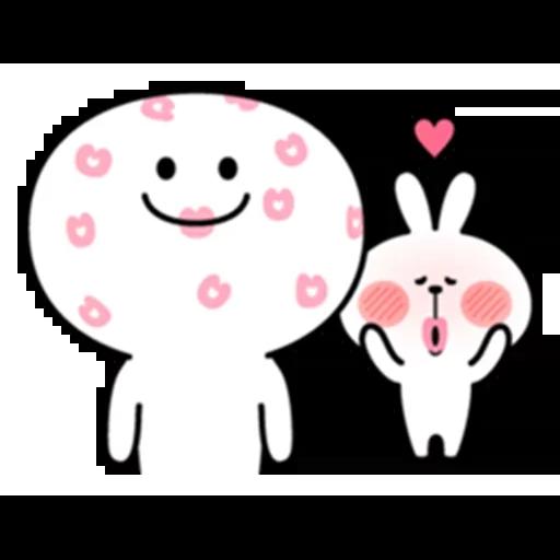 Spoiled rabbit - Sticker 10