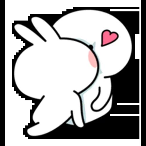 Spoiled rabbit - Sticker 11