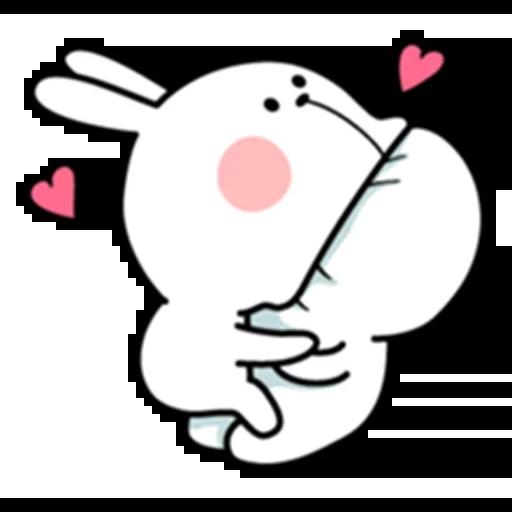 Spoiled rabbit - Sticker 9