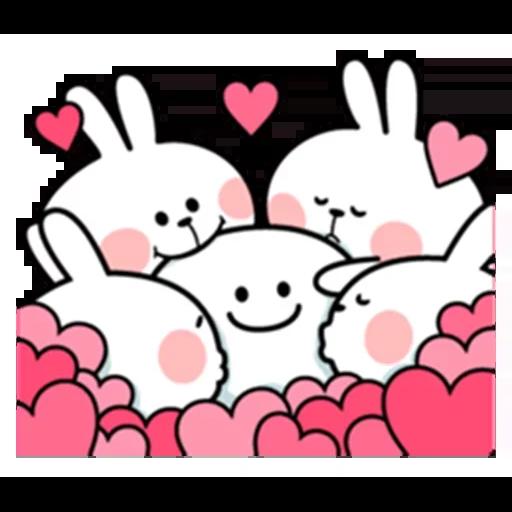 Spoiled rabbit - Sticker 16