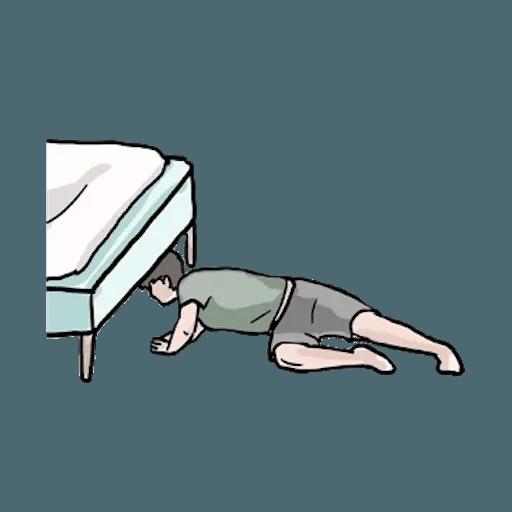 崩潰男友 - Sticker 10
