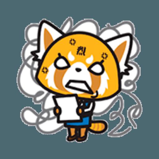Aggretsuko - Sticker 6