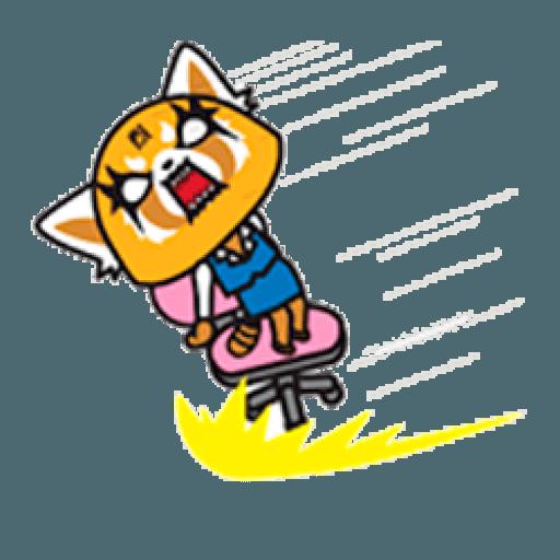 Aggretsuko - Sticker 8
