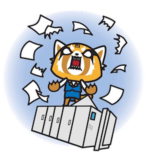Aggretsuko - Sticker 18