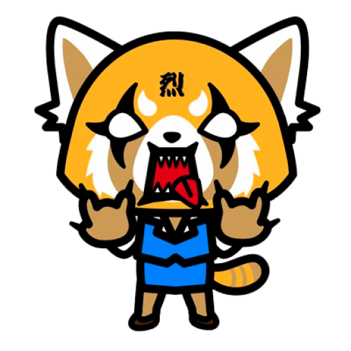 Aggretsuko - Sticker 1