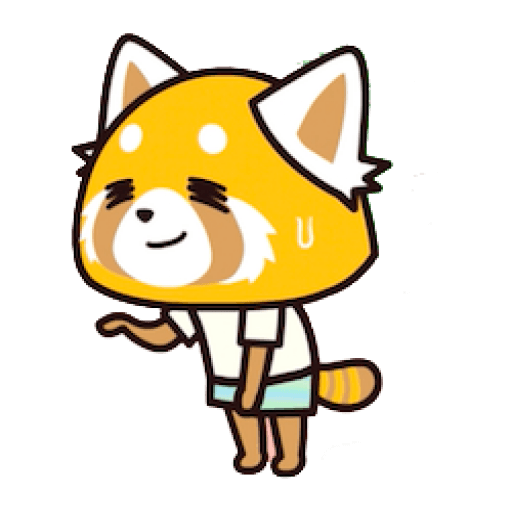 Aggretsuko - Sticker 15