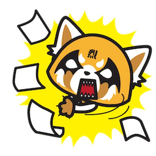Aggretsuko - Sticker 19