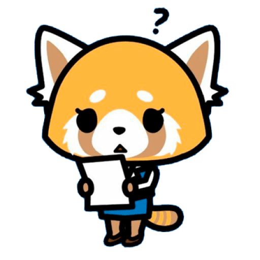 Aggretsuko - Sticker 4