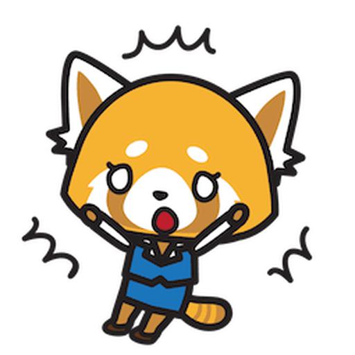 Aggretsuko - Sticker 22
