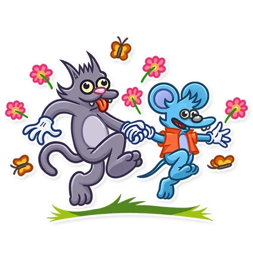 Itchy & Scratchy - Sticker 17