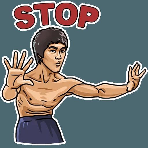 Bruce Lee - Sticker 8