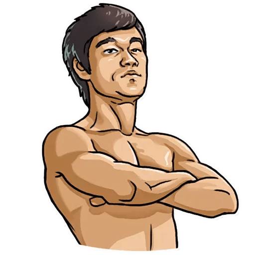 Bruce Lee - Sticker 12