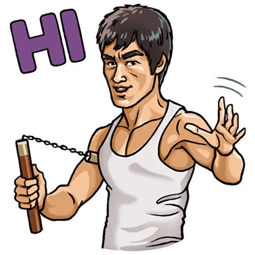 Bruce Lee - Sticker 4