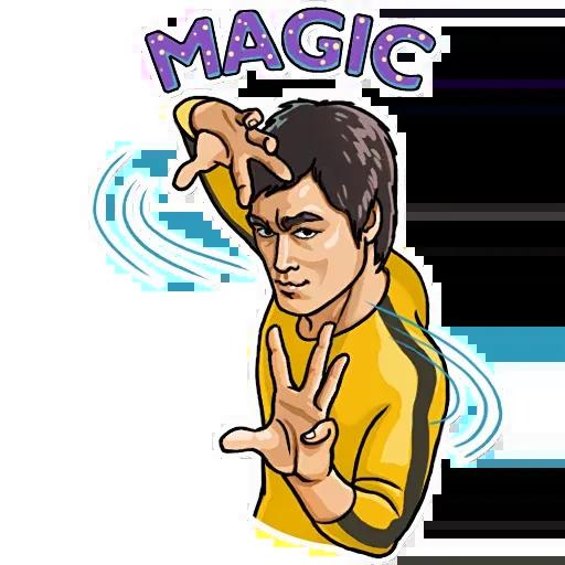 Bruce Lee - Sticker 26
