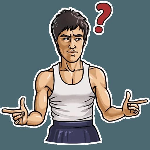Bruce Lee - Sticker 9