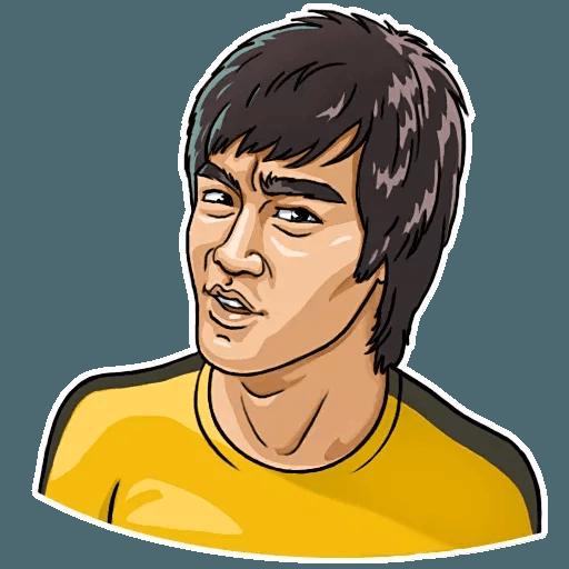 Bruce Lee - Sticker 24