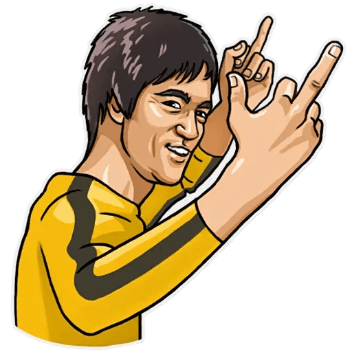 Bruce Lee - Sticker 6
