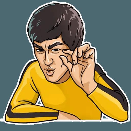 Bruce Lee - Sticker 10