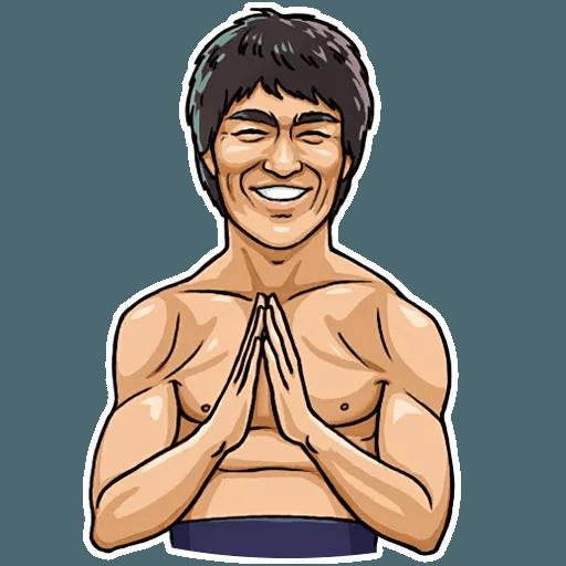 Bruce Lee - Sticker 22