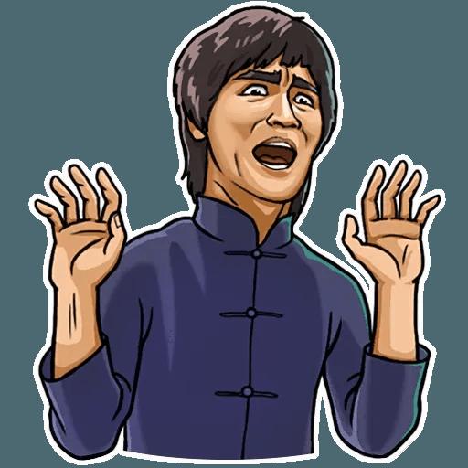 Bruce Lee - Sticker 14
