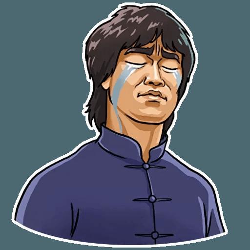 Bruce Lee - Sticker 29
