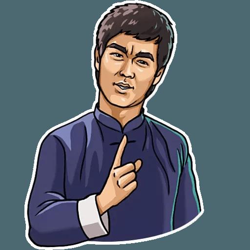 Bruce Lee - Sticker 17