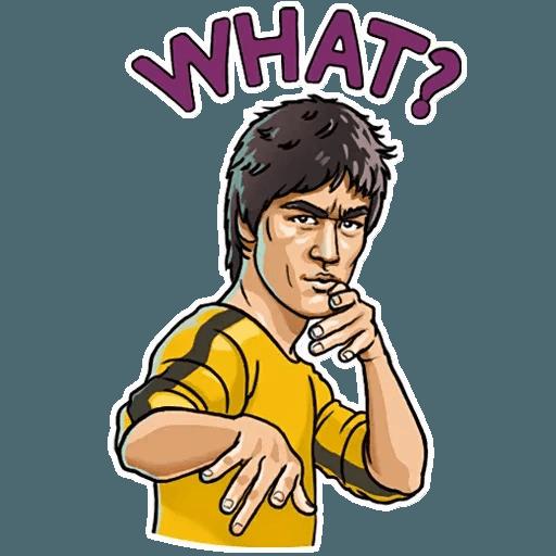 Bruce Lee - Sticker 28