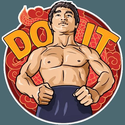 Bruce Lee - Sticker 27