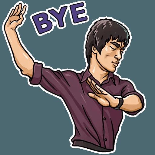 Bruce Lee - Sticker 15
