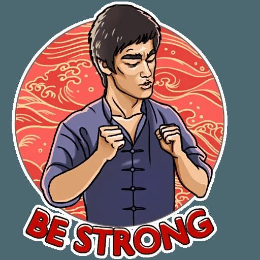 Bruce Lee - Sticker 18