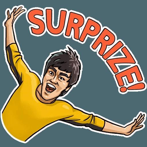 Bruce Lee - Sticker 30