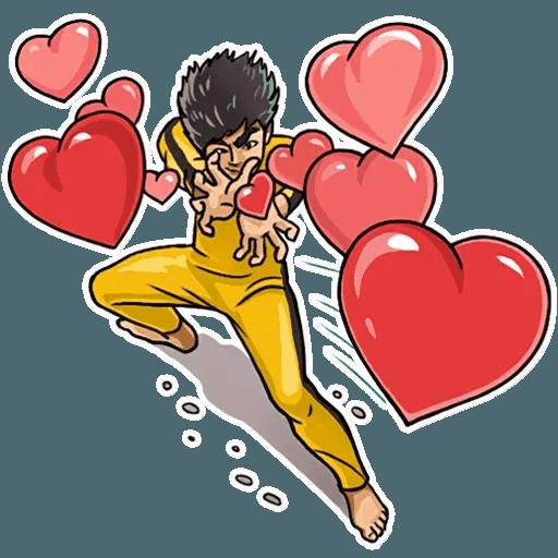 Bruce Lee - Sticker 2