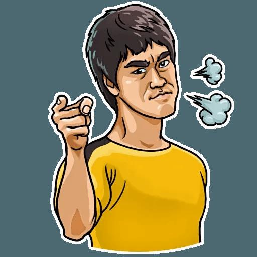 Bruce Lee - Sticker 16
