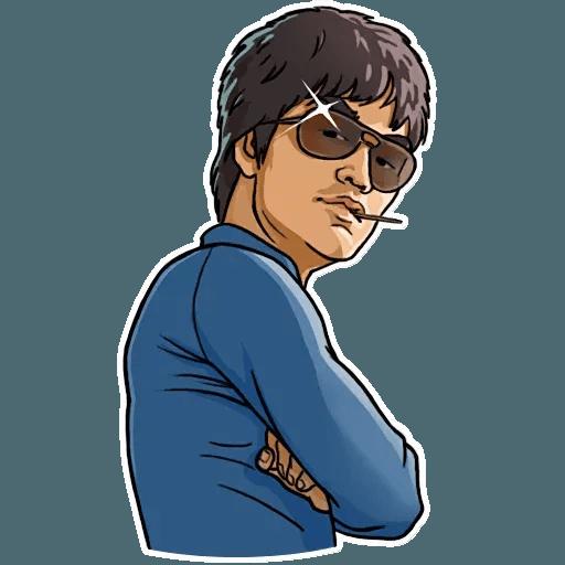 Bruce Lee - Sticker 19