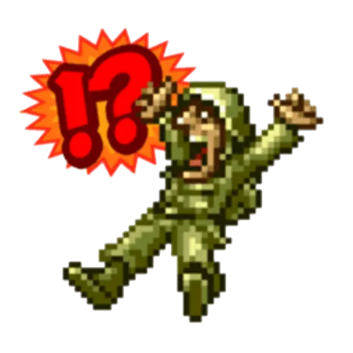 Metal Slug 1 - Sticker 20