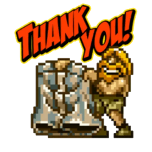 Metal Slug 1 - Sticker 10