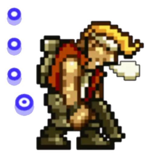 Metal Slug 1 - Sticker 13
